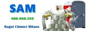 Noleggio bagni chimici Milano